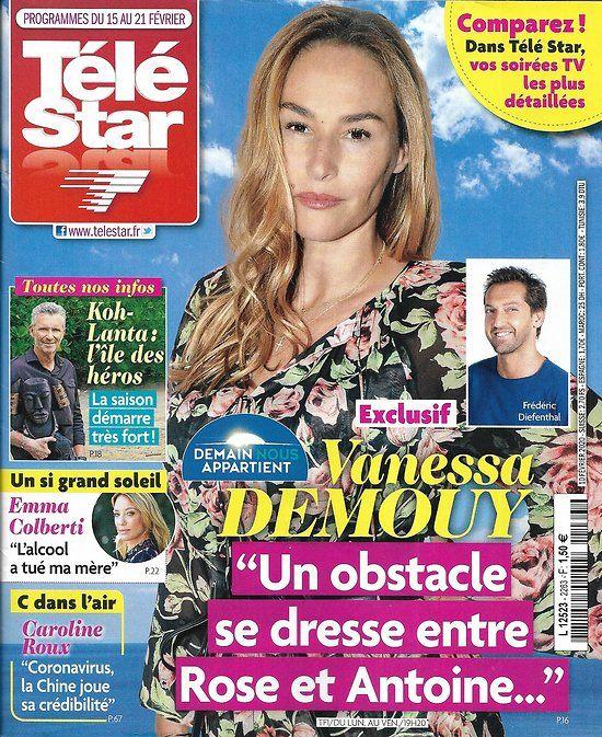 "TELE STAR n°2263 15/02/2020 Vanessa Demouy ""Demain nous"