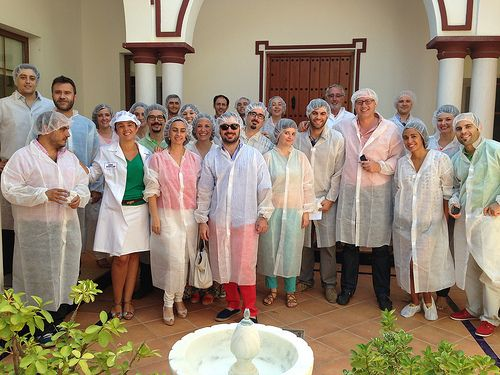 Bienvenida y Visita a la fábrica Inés Rosales #DescubreInesRosales
