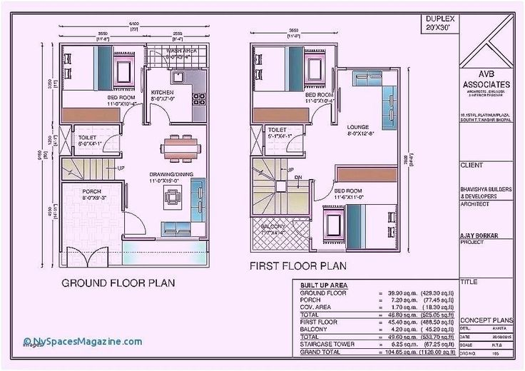 2 Storey House Floor Plan With Perspective Philippines Dwg
