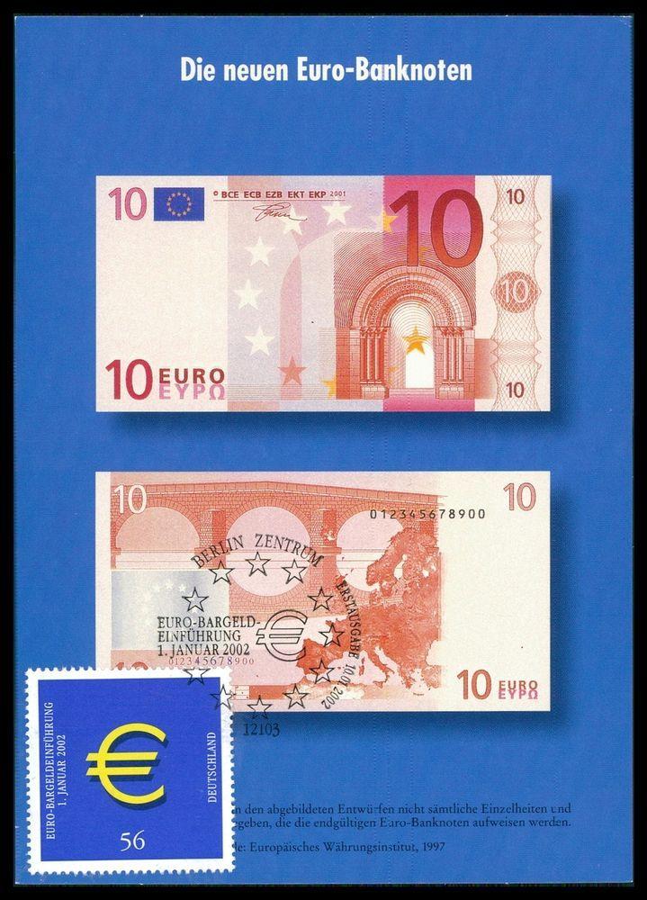 BUND MK 2002 EURO-EINFÜHRUNG PRIVATE! MAXIMUMKARTE CARTE MAXIMUM CARD MC cc89