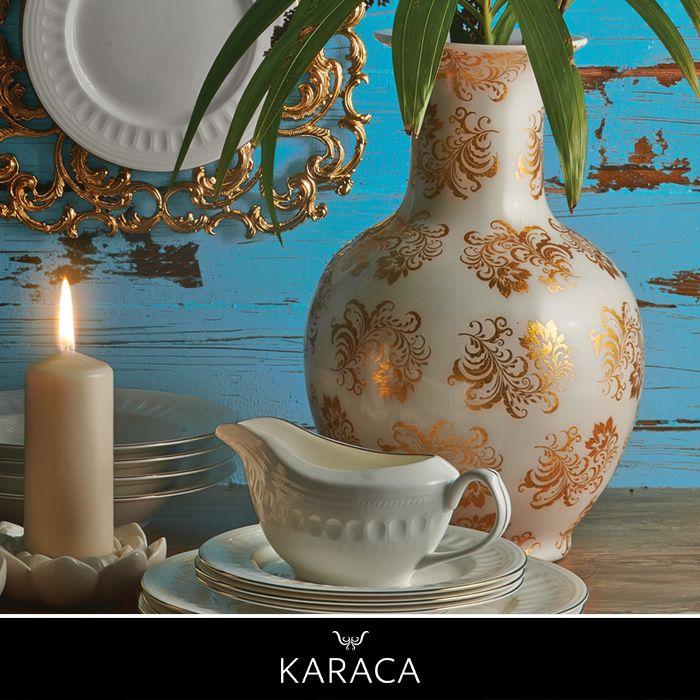 Evinizin her köşesinde şık duracak porselen aksesuarlar, #BeylikdüzüMigros AVM Karaca'da.