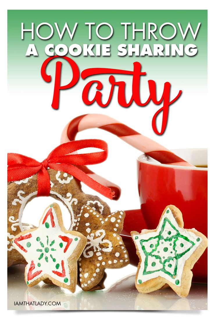 Hosting a Christmas Cookie Exchange Party can be a lot of fun - here is how to do it the best way!