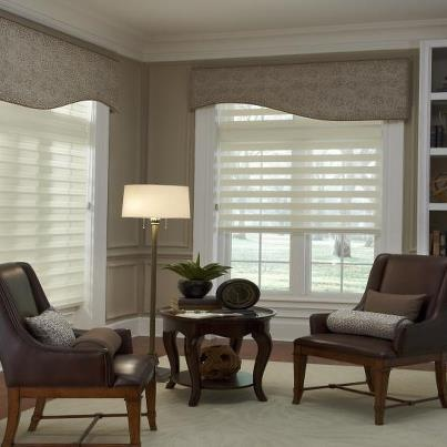 Illusion Shades by Budget Blinds  Lets the light in yet gives privacy. 12 best Cornices images on Pinterest   Cornices  Bali and Fine