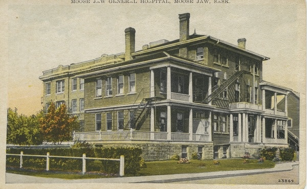 Moose Jaw General Hospital, Moose Jaw, Sask. | saskhistoryonline.ca