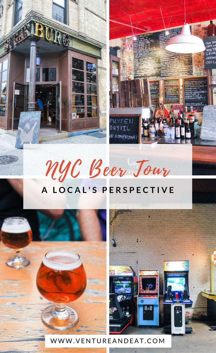 Craft Beer | Beer Tour | NYC | New York City | Williamsburg | Are you a craft beer lover or looking to learn more about craft beer? Take a beer tour with Urban Adventures in NYC and explore the craft scene in Williamsburg!