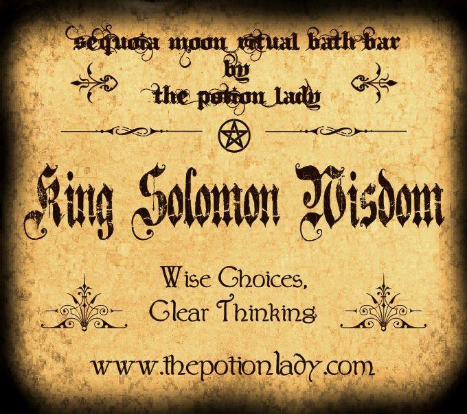 King Solomon Wisdom Ritual Bath Bar | Clear Thinking, Wisdom
