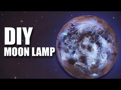 Mad Stuff With Rob - DIY Moon Lamp | Room Decor Ideas - YouTube