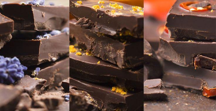 Ob Sie klassisch braune, weisse oder vegane Schokolade selber machen wollen, Sü…