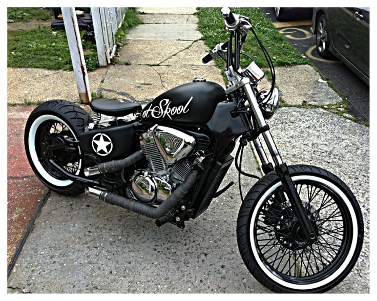vlx bobber cool bike honda shadow vt 600 c pinterest. Black Bedroom Furniture Sets. Home Design Ideas