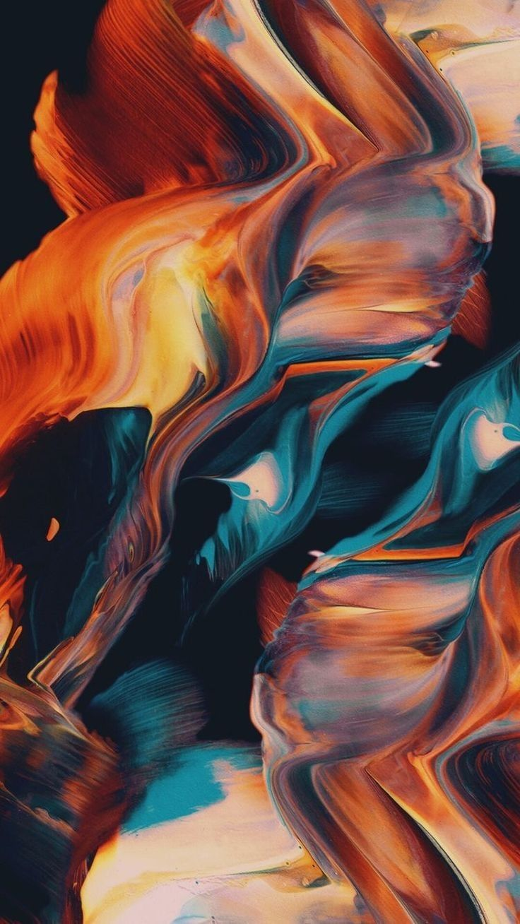Abstract Wallpaper #14 for your iPhone & Android Abstract Wallpaper Download for iPhone & Android, colorful wallpapers, glitch, 2340 X 2340 pixels resolution, shades, orange, blue. <a class=