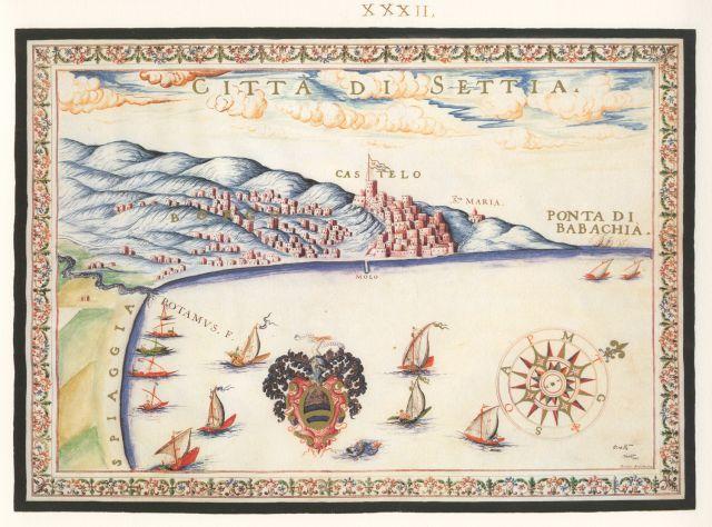 Άποψη της πόλης της Σητείας με το βενετικό φρούριο (Καζάρμα)....