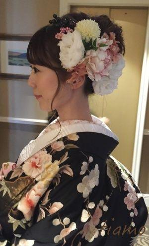 可愛い花嫁さま♡ドレスから色打掛へとチェンジの素敵ホテル婚 |大人可愛いブライダルヘアメイク『tiamo』の結婚カタログ