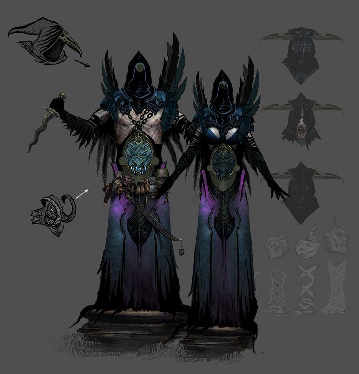 http://www.artstation.com/artwork/sorcerers-and-zealots