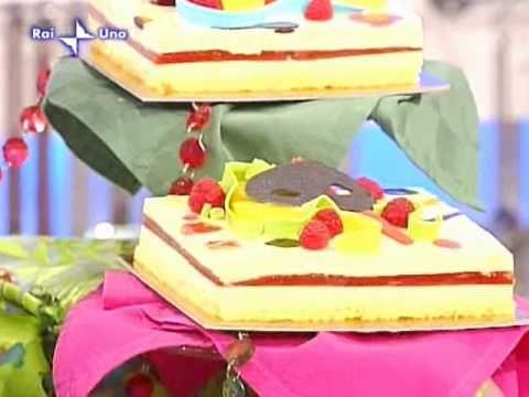Torta Arlecchino di L.Montersino1/2 - YouTube