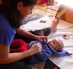 Modeling speech for the infant