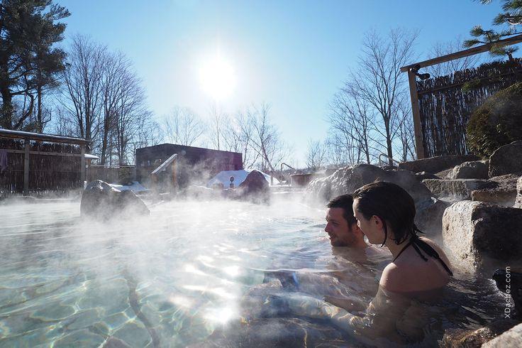 Le bain,un bon moyen d'éloigner les mauvaises énergies. Bains chauds extérieurs, bains froids extérieurs, sauna finlandais, hammam, caverne de sel, repos.