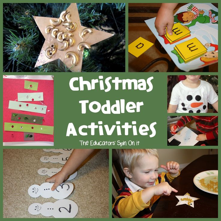 Tot School - Holiday Learning Activities: The Educators' Spin On It