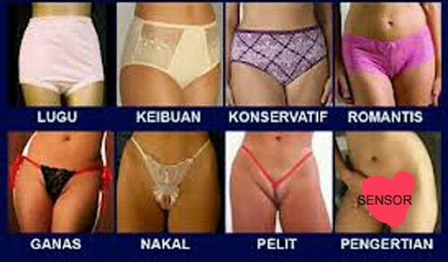 Anda menyukai tipe yg mana ?