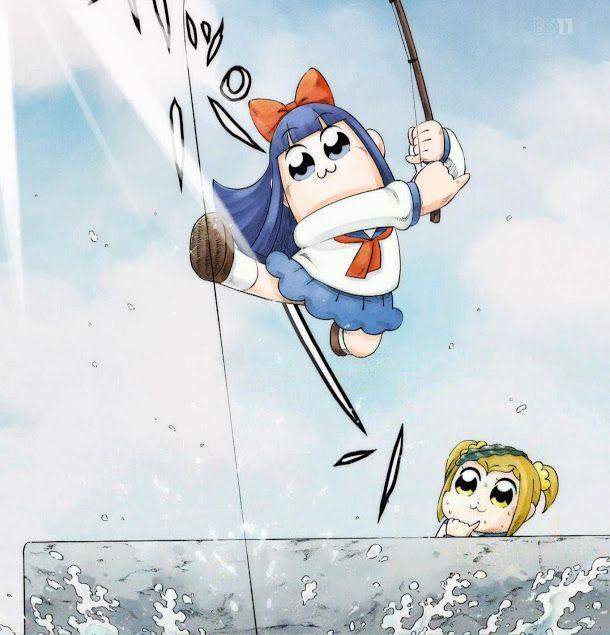 Pop Team Epic 7 Fisherman Sanpei Epic Anime Animation