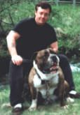Hermes olde English bulldogge