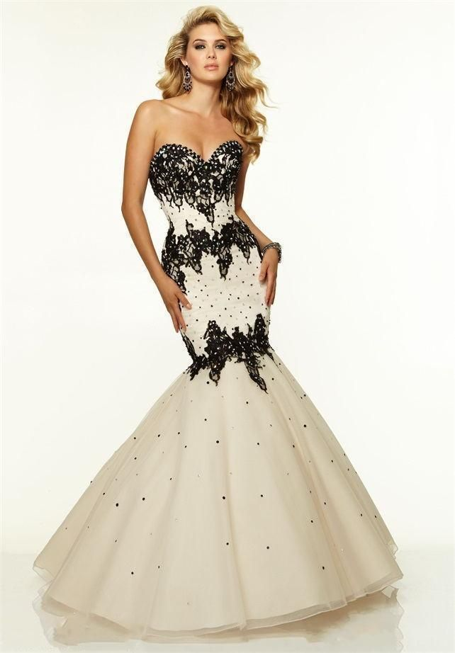 Sexy Mermaid Beads Lace Applique Evening Formal Party Pageant Dress Prom Gown