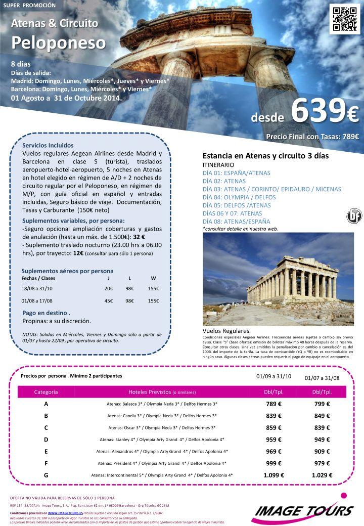 Vacaciones en GRECIA, Atenas y circuito Peloponeso hasta Octubre, 8 días con visitas desde 639€ ultimo minuto - http://zocotours.com/vacaciones-en-grecia-atenas-y-circuito-peloponeso-hasta-octubre-8-dias-con-visitas-desde-639e-ultimo-minuto-3/
