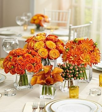 1000 images about orange centerpieces on pinterest. Black Bedroom Furniture Sets. Home Design Ideas