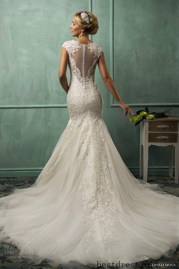BEAUTIFUL lace wedding dress lace wedding dresses