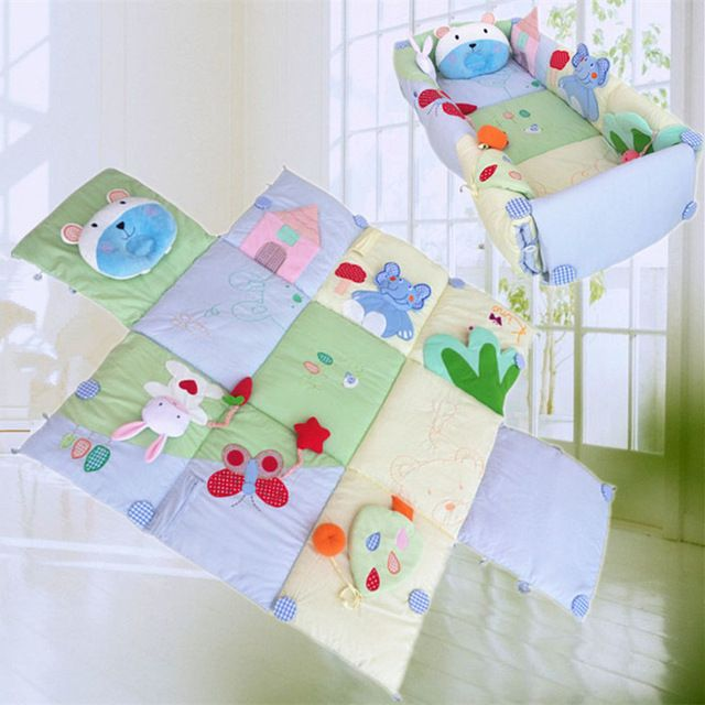 0-3 year Baby Folding bed Novelty Movement Baby Bed Infant Cradles Baby Crib Safety Mommy Bag
