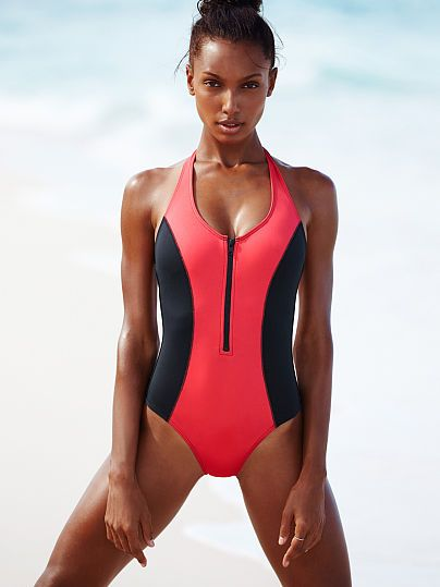 Surf Zip One-piece - Victoria's Secret | clothes ...