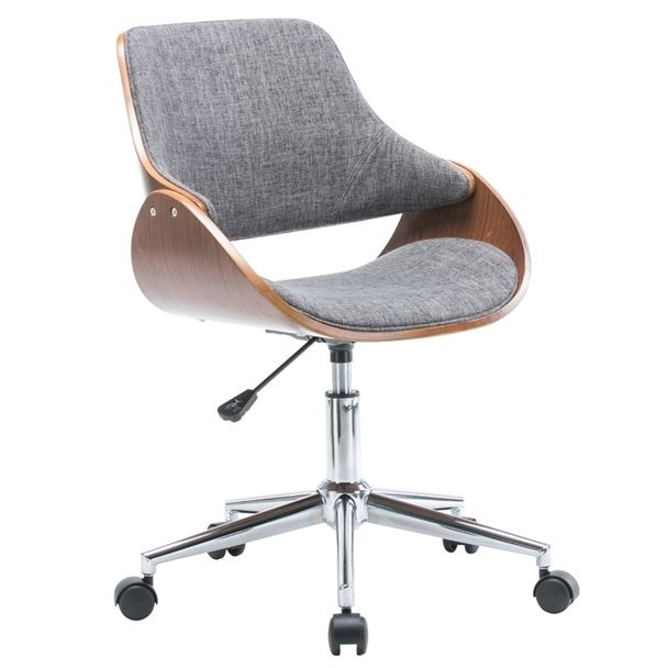 Dimatteo Adjustable Height Office Chair With Caster Wheels Officefurniture Modern Desk Chair Cheap Office Chairs Desk Chair