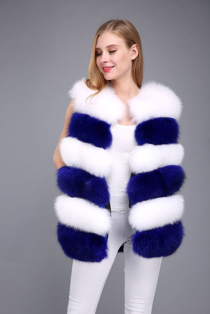 fox fur vest ,US$179.Many more fur models ,please contact us .eileenhou.lvcomeff.