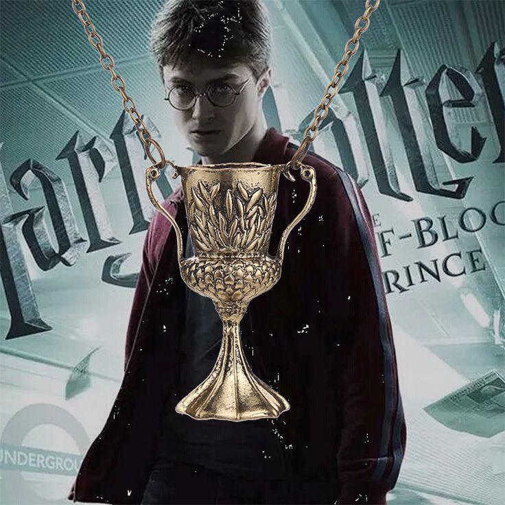 Гарри Поттер кулон кубок огня на цепочке