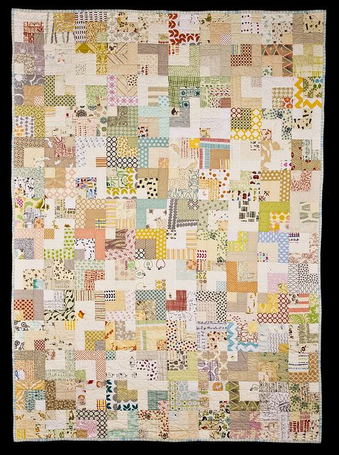 Low Volume Bento Box | Flickr - Photo Sharing! -- I'm really loving low volume quilts!