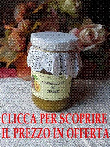 Marmellata di Susine composta da susine 80% zucchero 20% Confezione da 314 g  OFFERTA SPECIALE € 7,59 IVA INCLUSA
