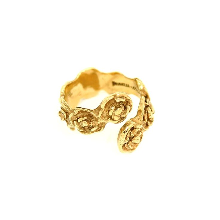 DANIELLE ROSE WRAP Ring - Gold