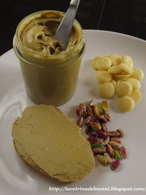 Crema Spalmabile Cioccolato Bianco & Pistacchio