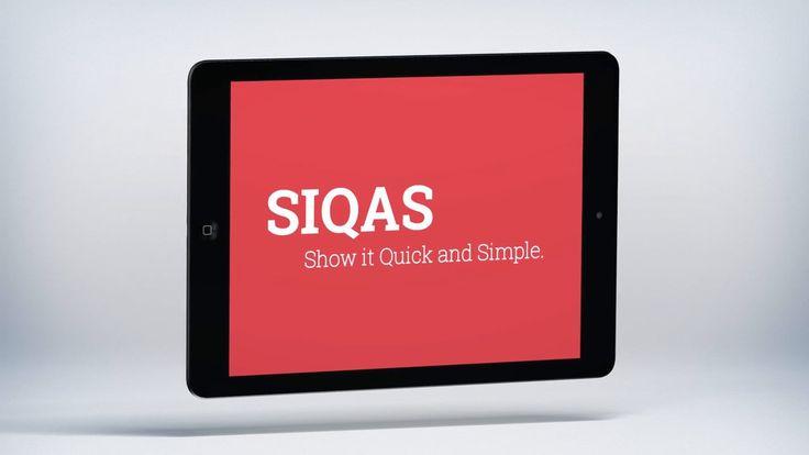 SIQAS - show it quick and simple | appcom | PoS | sales | tool | tablet app | customized | appcom marketing