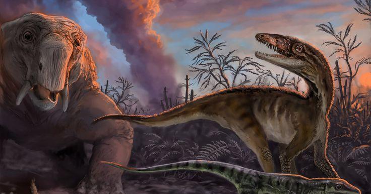 Massive Volcanic Eruptions Triggered the Dinosaur Age - Seeker