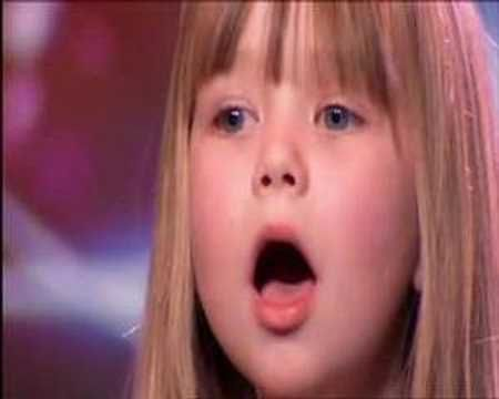 "Still my favourite ""[insert place here]'s Got Talent"" performance to date. The little girl's voice is amazing."