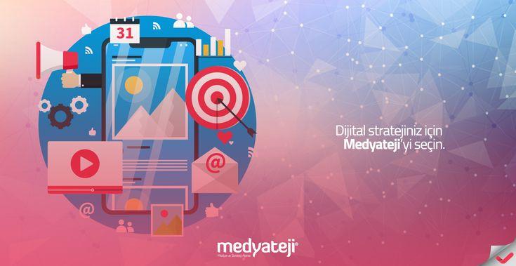 Medyateji olarak, işletmelerin dijital medya stratejilerini belirleme adına #sosyalmedya, #aramamotoru, #basın (#pr), #yazılım ve #kodlama çalışmaları yapmaktayız.  www.medyateji.com / 0850 302 6 456