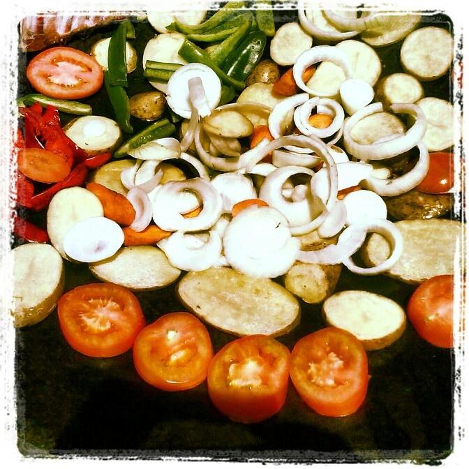 Vegetales al disco de arado