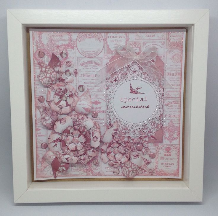 Card created using Toile de Jouy collection, design by Julie Hickey