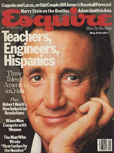 Roy Scheider - Esquire Magazine [United States] (May 1983 ...