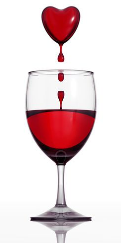 Red wine is a type of wine made from dark-coloured (black) grape varieties. Description from imgarcade.com. I searched for this on bing.com/images