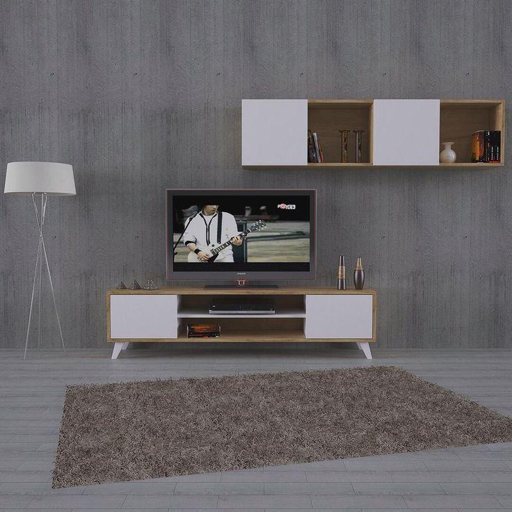 Mode tv ünitesi  Sizin modunuz nasıl? Bunu tam bilemeyiz ama sade ve şık mode tv ünitesi tam da evinizin moduna uygun.  Alt ünite 180x40x45h Üst ünite 180x27x45h  #tvunit #tvünitesi #livingroom #salon #mobilyatasarim #architecture #mimari #tv #tasarım #design #modern #tuundesign #yahyatuncer #myhome #ev #mobilya #decoration http://turkrazzi.com/ipost/1519052186356507556/?code=BUUwepLD2Ok