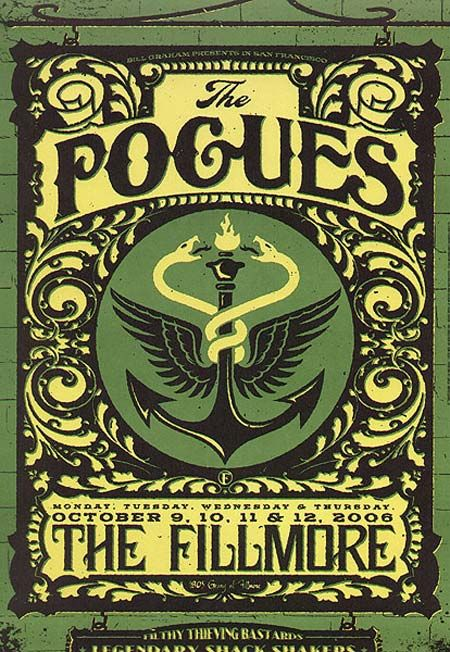 The Pogues Concert poster art #music