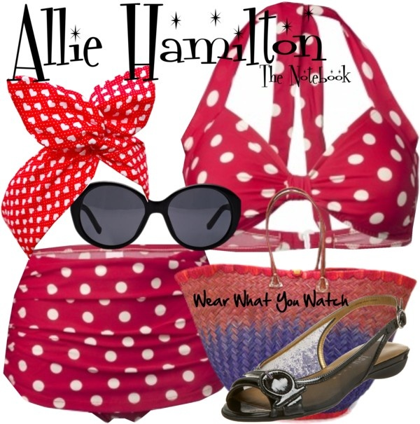 A summer look inspired by Rachel McAdams as Allie Hamilton in The Notebook.