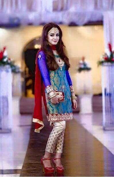 Pakistani Wedding Dress Gorgeous
