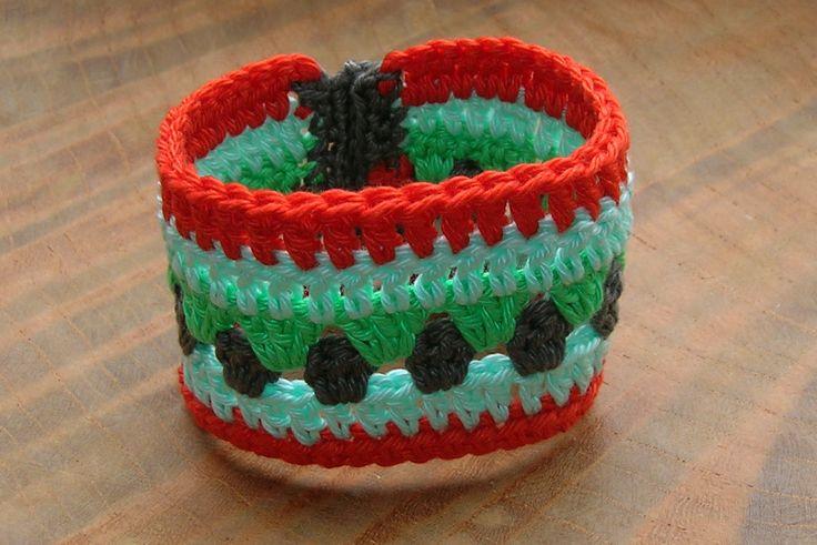Ibizastyle gehaakte armband 2